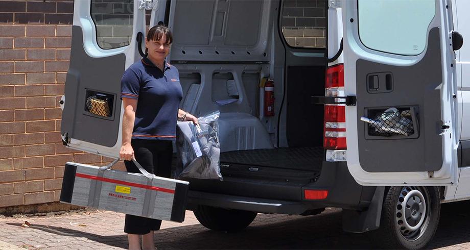 Domiciliary Equipment Service - Home