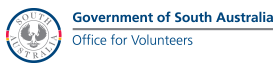 Government of South Australia, Office for Volunteers - logo